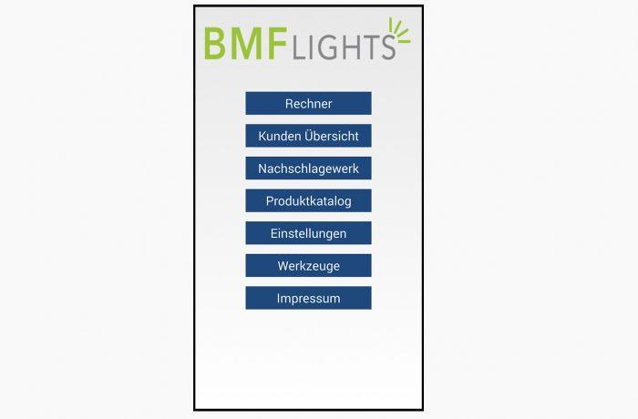BMF Vertriebs App