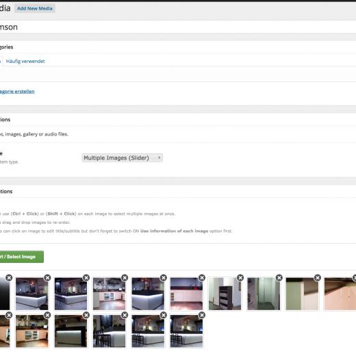WordPress Galerie Plugin
