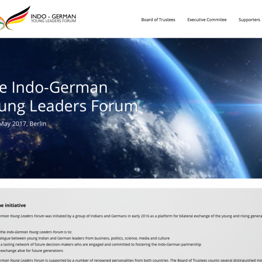 Indo-German Young Leaders Forum